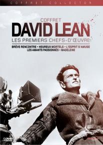 """Coffret David Lean """"les premiers chefs d'oeuvre"""""""