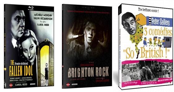 DVDs Tamasa, le cinéma anglais à l'honneur