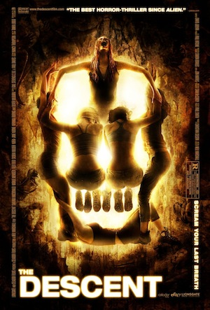 The Descent (affiche uk)