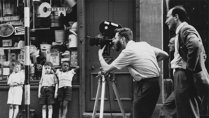 Free Cinema (tournage de We aree the Lambeth boys - BFI)
